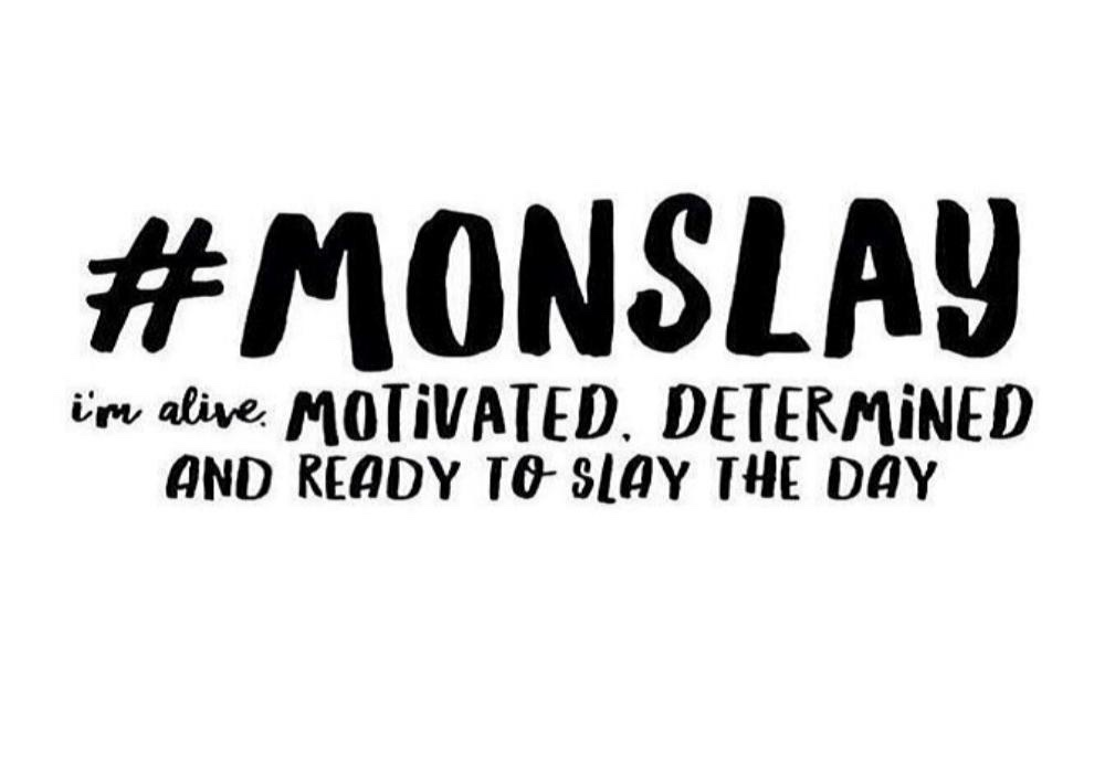 Monday Metavators: Monday Motivation: Slay The Day